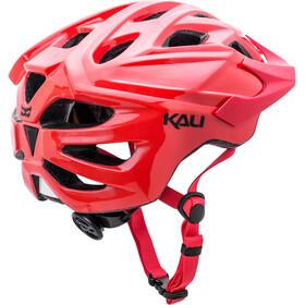 Kali Chakra Solo casco per bici rosso